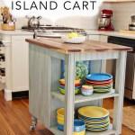 Diy Kitchen Island Cart Deeplysouthernhome