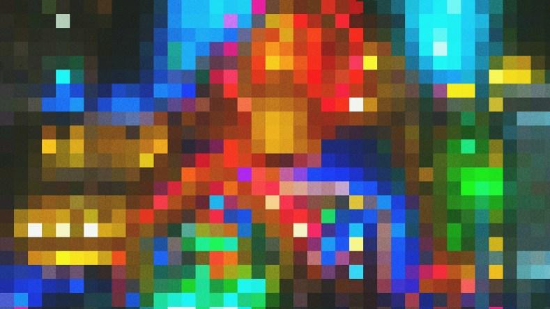 econnaissance image pixels