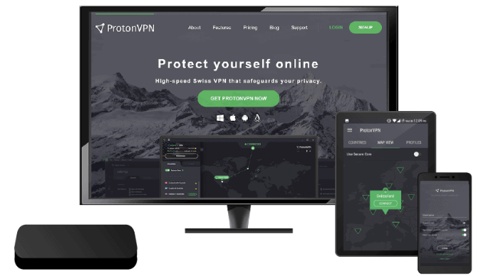 4 – ProtoconVPN بيانات الانترنت المجاني غير محدودة