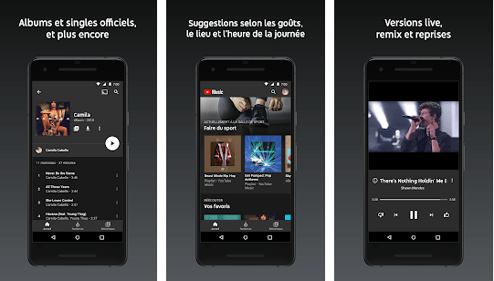 YouTube and YouTube Music