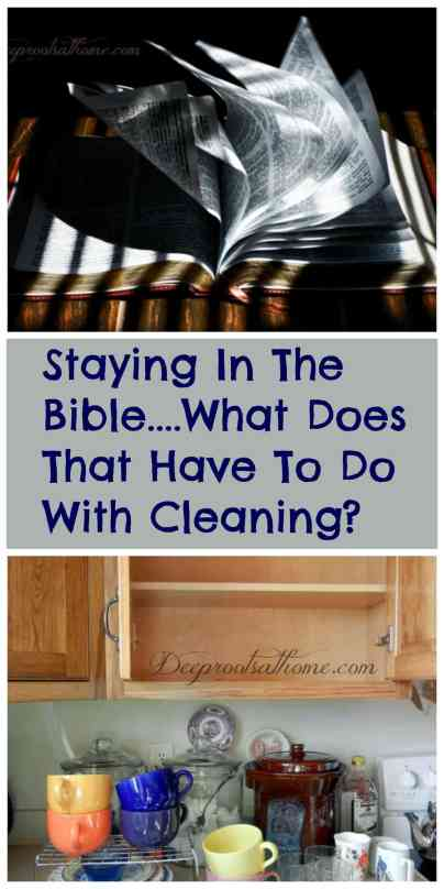 Bible In 90 Days...What Does That Have To Do With Cleaning?, cleaning closets, dusting, cooking and baking, stripping and making beds, washing windows, putting away groceries, chauffeuring, CD player, iPod, photos, Faith comes by Hearing, Streaming audio, iPod, cleaning, nurturing your family, reading the Bible in 90 days, Romans 10: 17, wash out cabinets, watering plants, doing laundry, Colossians 3: 17, washing the stove, wiping counters, folding the wash,