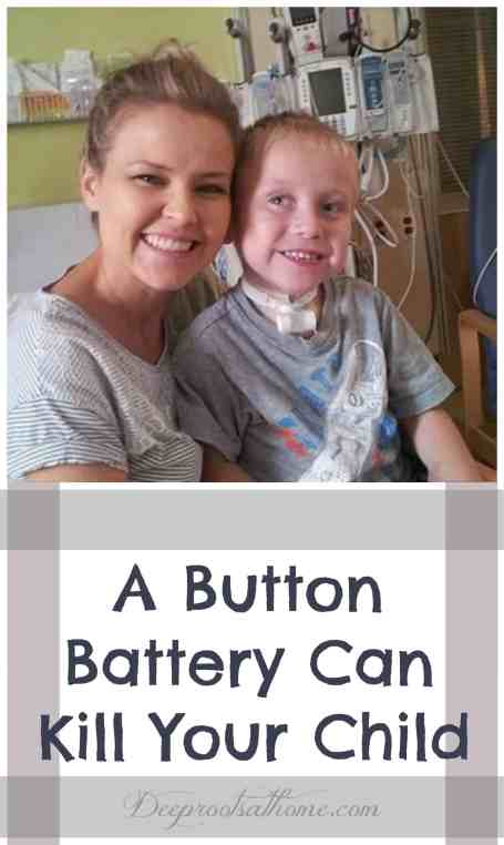A Button Battery Can Kill Your Child, caution, household, homemaking, alert parents, danger, lithium batteries, fatal ingestion, SafeKids.org, Emmett's Fight foundation, Rauch Family, Emmett, accidental swallowing, prevention, keep batteries out of children's reach, safeguard kids, emergency, mini remote controls, small calculators, watches, key fobs, flameless candles, electronics, severe burns, preventable accident in children, toddler, babies, alert, pediatrics, emergency room, musical greeting cards, x-ray, button battery in child's throat