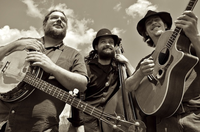 The Howlin Brothers (from left: Ian Craft, Ben Plasse, Jared Green): Something's at stake