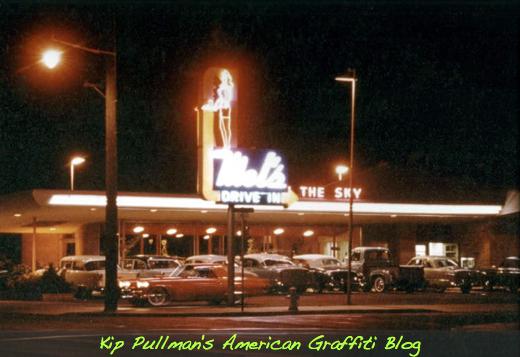 Mel's 909 South Main, Salinas, CA. circa 1955
