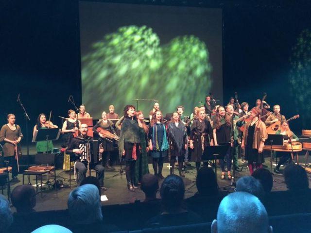 The Sibelius-Akatemian Folk Big Band