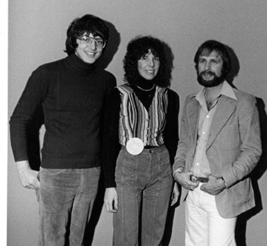 (from left) Lenny Beer, Toni Profera and Ira Heilicher, circa 1973