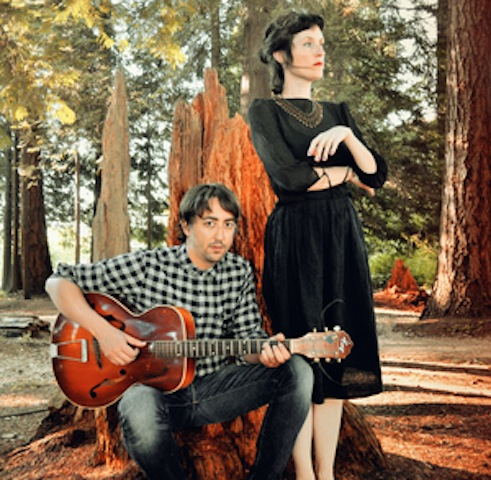 Guitarist Aram Bajakian and vocalist Julia Ulehla of Dálava: 'We tried to give each song its own sound world,' Julia says of the songs on the duo's eponymous debut album. 'We knew nothing about the traditional way it was done at the time. It was simply a work of creativity and imagination. We were totally free.'