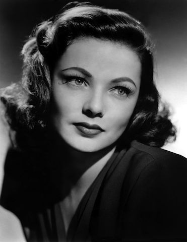Gene Tierney in a 1963 promotional photo