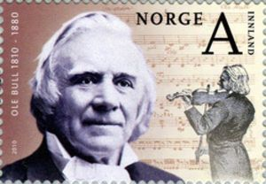 ole-bull-norwegian-stamp