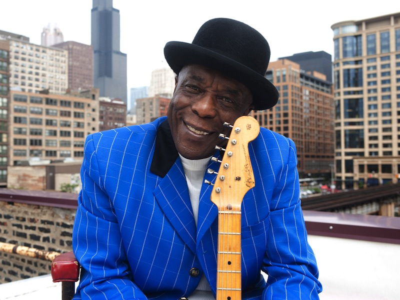 Buddy Guy: Right on it and right in it, all the way through Born to Play Guitar