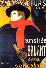 Toulouse-Lautrec - Bruant
