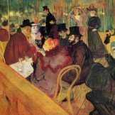 Toulouse-Lautrec - Au Moulin Rouge