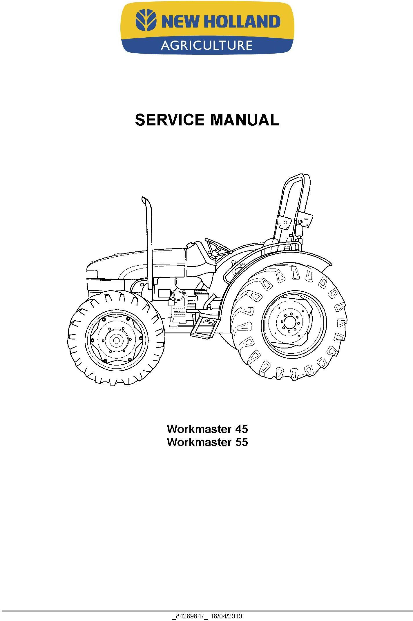 New Holland Workmaster 45 Workmaster 55 Tractor Complete