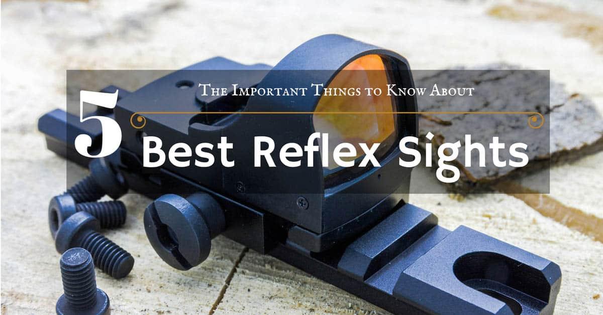 best reflex sight