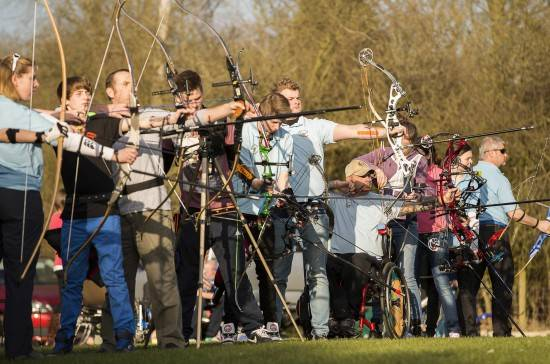 Some excellent photos capturing the spirit of archery!
