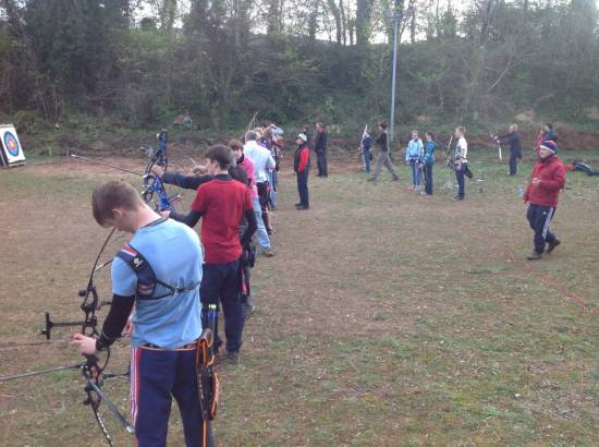 Tom, James & Lucy got some more vital practice in readiness for this weekends selection shoot.