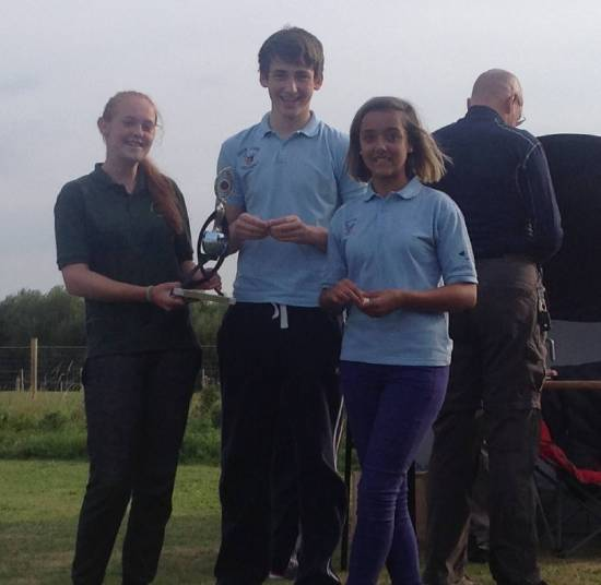 County Perpetual Trophy Winning Team from Deer Park Archers.