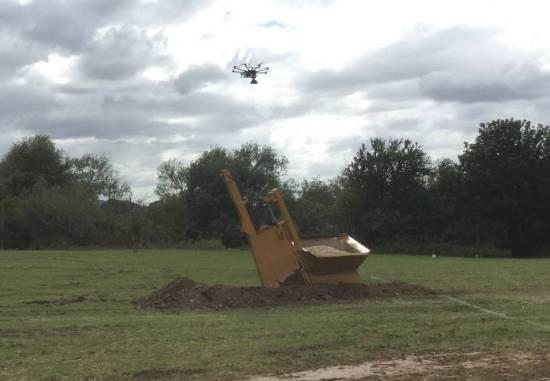 Drone over Deer Park