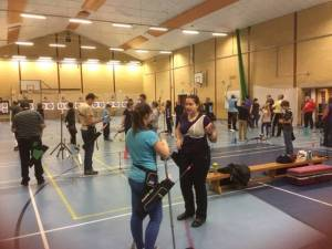 36 archers shot in the previous Club Target Competition.