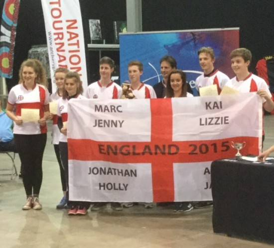 Holly Clifford represented England.