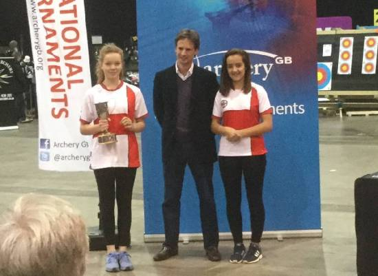 Holly Clifford won an individual silver medal.