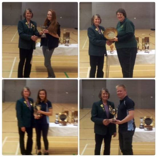 4 of our 5 Senior County Champions