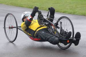 Dave Sandles - Also representing GB in Hand Cycling!