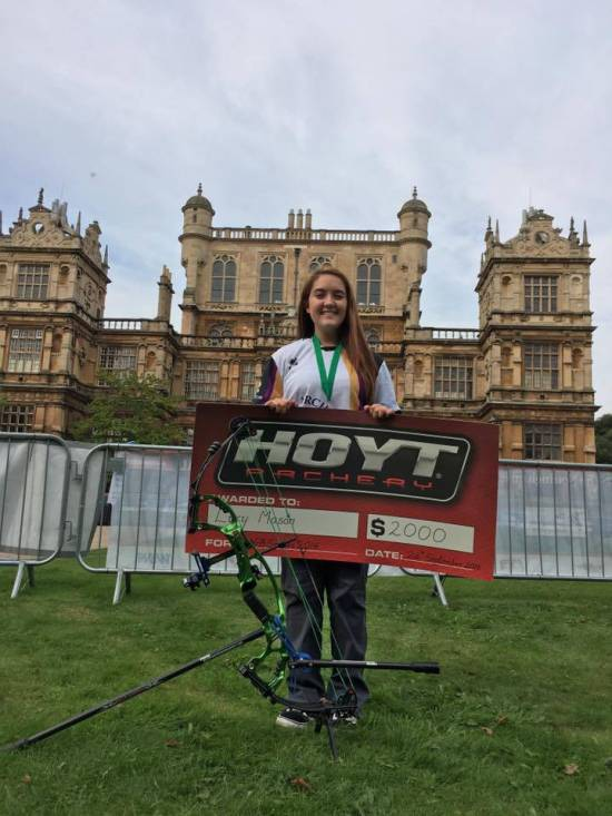 Lucy Mason - Youngest ever archer to win the National Series and add that title to her European and British Titles!