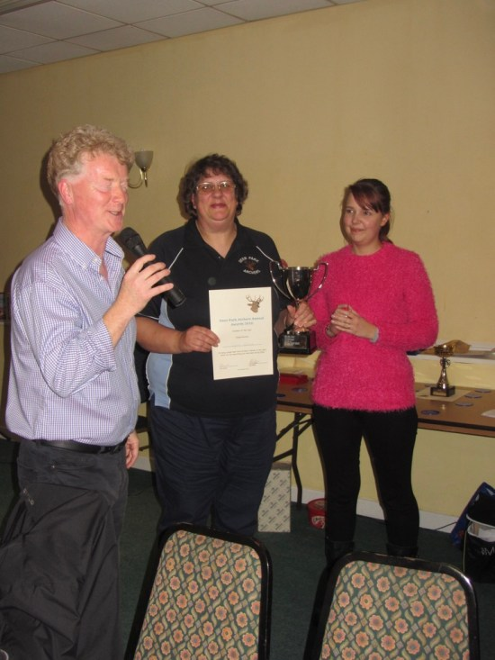 Lynn Benfield Club Person of the Year 2016