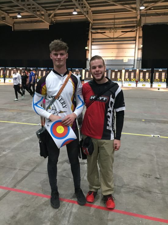 Tom Howse who competed against Mike Schloesser the World Number 1 Archers and who shot another perfect score and went on to win the event.