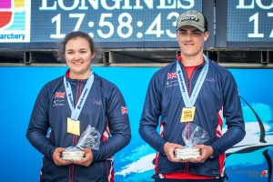 James Howse & Sarah Moon - World Champions!