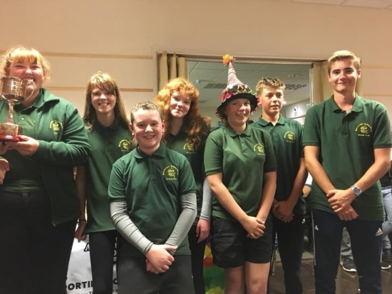 Regional Inter-Counties Recurve Team Champions. Including Deer Park's Riley, Will, Molly and Jaz.