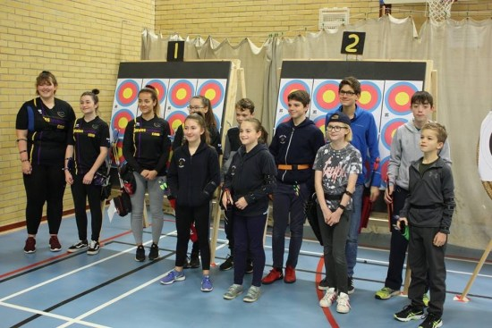 Deer Park Archers from morning session.