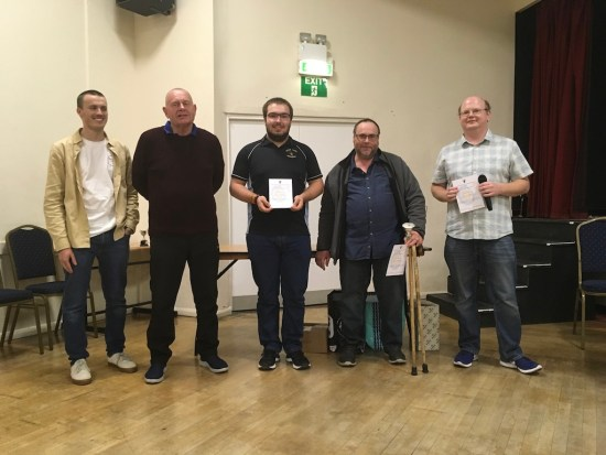 Some members of the GL1 Team led by Andy Cramb (not present). Deserved Winners of the Team of the Year Trophy.