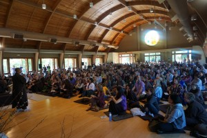 Sangha in the Meditation Hall