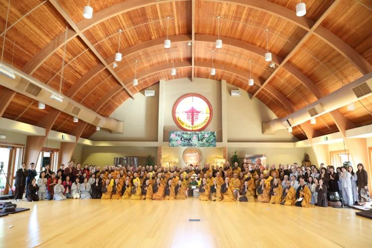 Mahasangha at Great Precepts Transmission Ceremony 2021