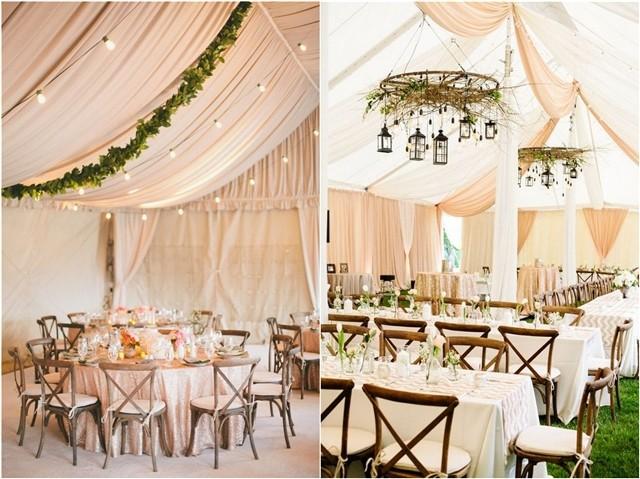 30 Chic Wedding Tent Decoration Ideas