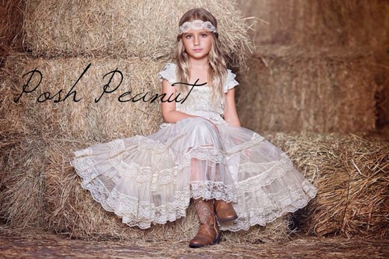 20 Flower Girl Dresses For Country Weddings