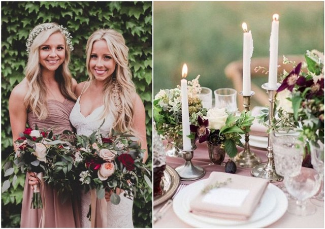 Best 6 Mauve Wedding Color Combos For 2018