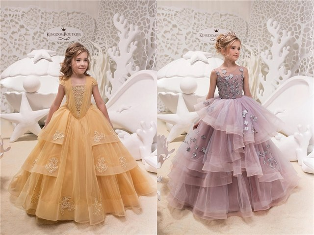 15 Flower Girl Dresses From Kingdom Boutique