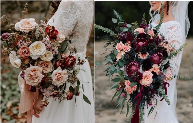 20 Fall Wedding Bouquet Ideas For 2019