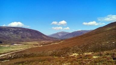 Derry Cairngorm from Glen Lui