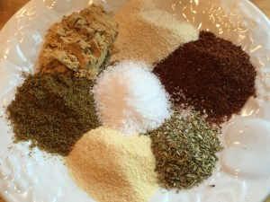 Spices for Chicken Chili