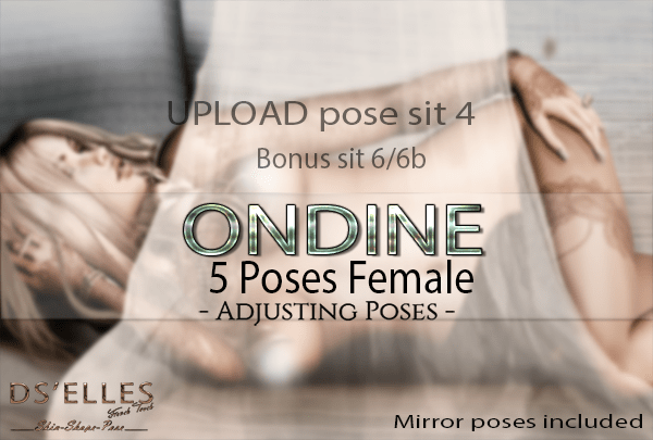 Affiche upload Ondine 5 poses DS'ELLES MP