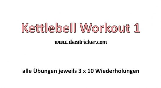 WORKOUT: Kettlebell Teil 1