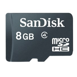 SANDISK 8GB CLASS 4 MEMORY CARD