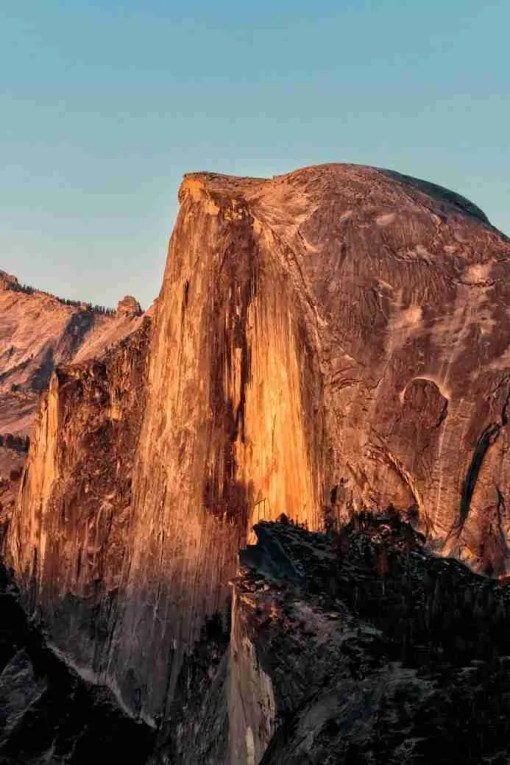 Photo of Half-Dome at Sunset