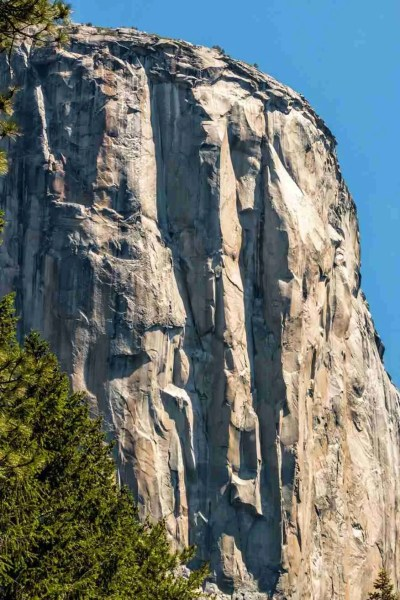 Print of a El Capitan at Yosemite