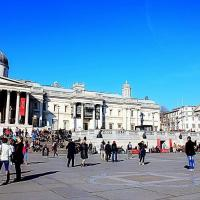 London Glimpses: Trafalgar Square