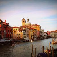 Vivid Waterways of Venice